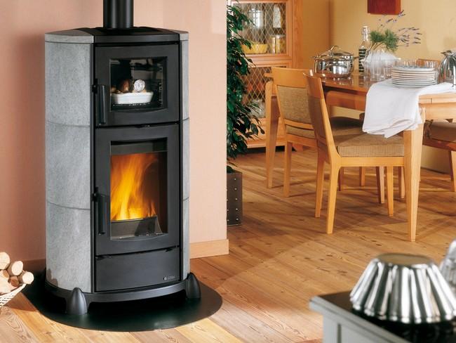Poêle à bois Cortina forno