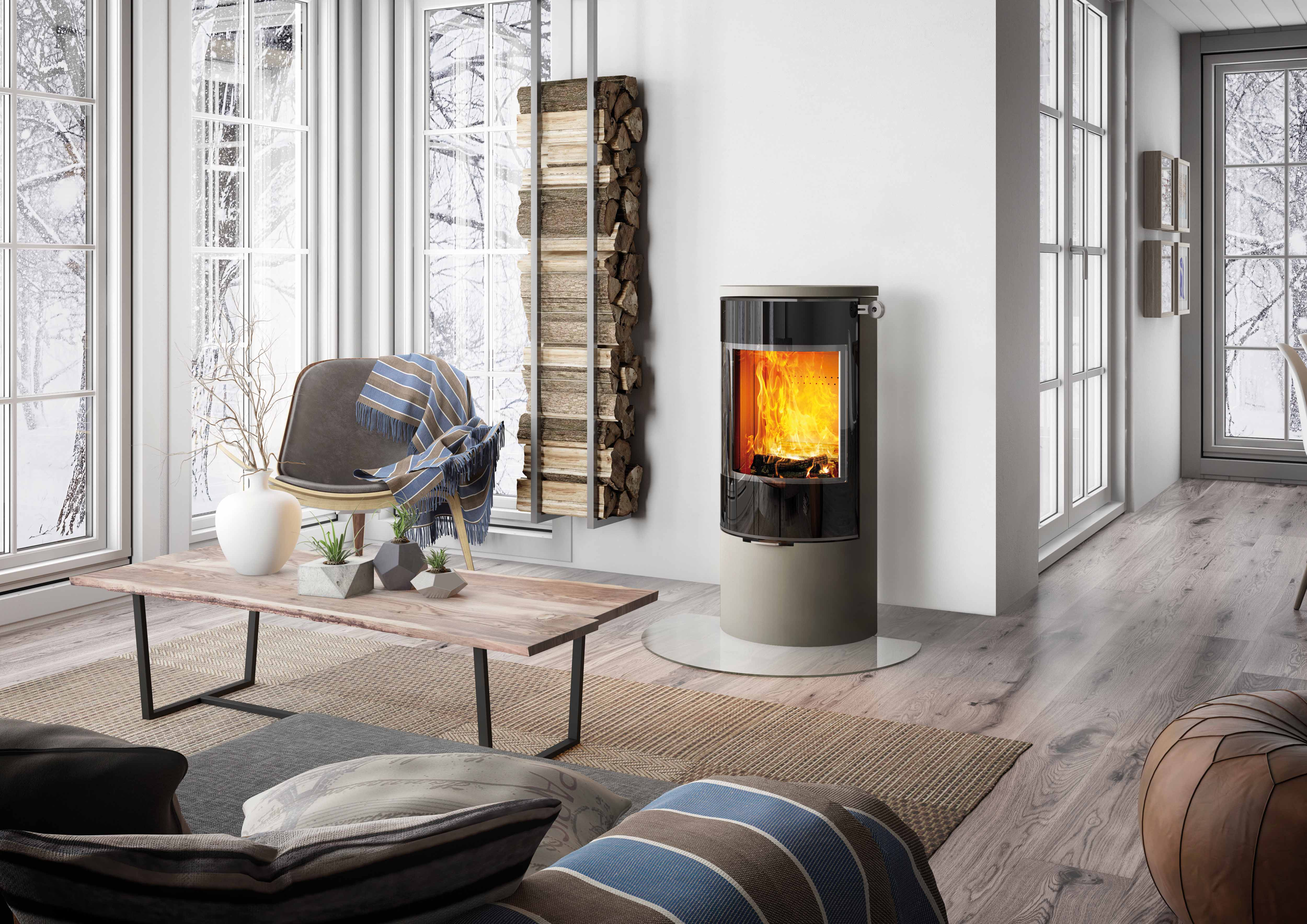 po le bois attika viva 120 l mondial po les montpellier h rault. Black Bedroom Furniture Sets. Home Design Ideas