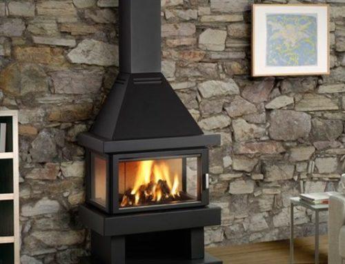 Poêle à bois – cheminée ROCAL BARBARA 90