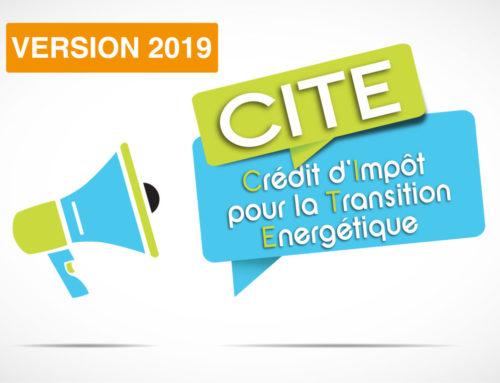 Renouvellement du crédit d'impôt pour 2019